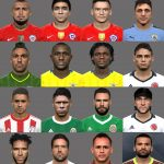فیس پک Conmebol & México برای PES 2017