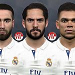 مینی فیس پک جدید رئال مادرید برای PES 2017