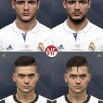 مینی فیس پک Morata و Dybala برای PES 2017