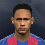 فیس جدید Neymar JR برای PES 2017