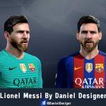 فیس جدید و زیبای Messi برای Pes 2013