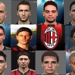 فیس پک AC Milan برای PES 2017