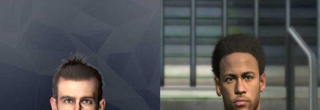 فیس جدید Neymar Jr. and G. Bale برای pes 2017