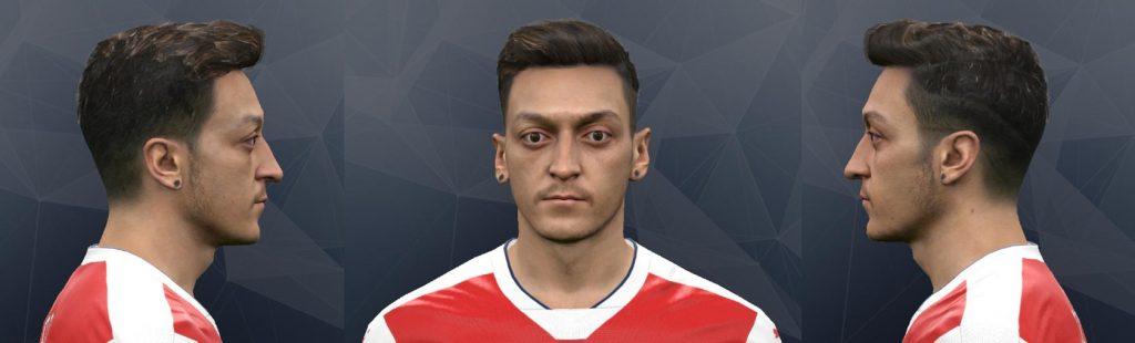 فیس جدید Mesut Özil برای PES 2017