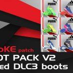 پک کفش SMoKE v2 برای PES 2017(شامل 100 کفش)