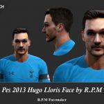 فیس جدید Hugo Lloris برای PES 2013