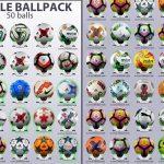 پک توپ 50 تایی G-Style v2.0 برای PES 2017