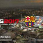 پک استارت اسکرین ورزشگاه Camp Nou برای Pes 2017