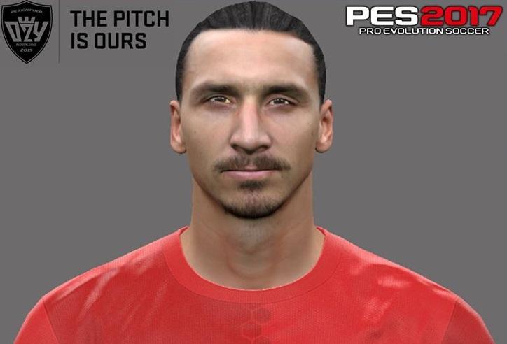 فیس جدید Ibrahimović برای Pes 2017
