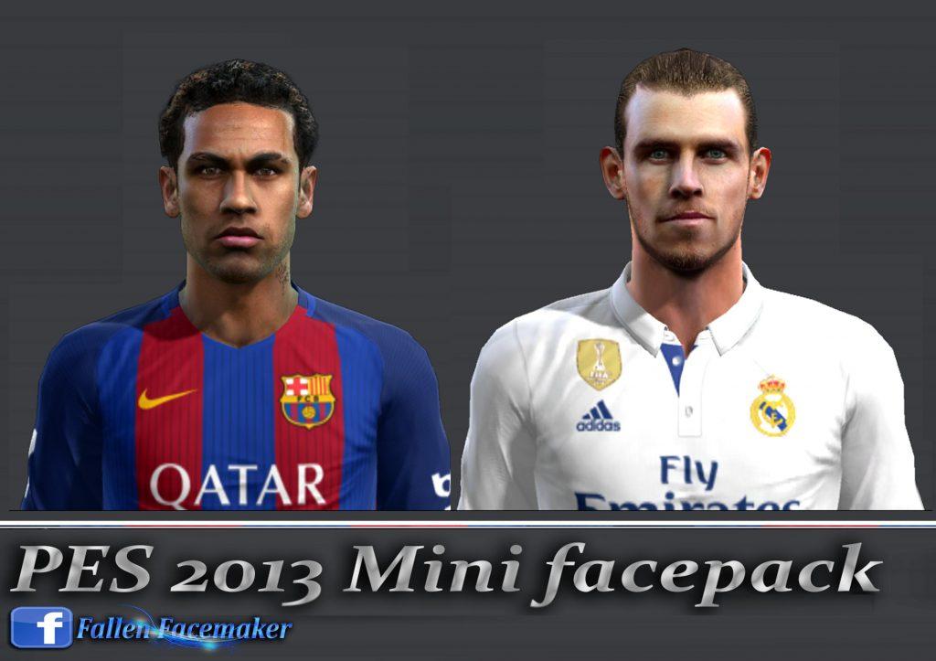 مینی فیس پک جدید Neymar & Bale برای PES 2013