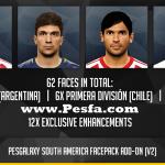 افزونه رسمی آمریکا جنوبی v2.0 برای پچ PesGalaxy 3.00