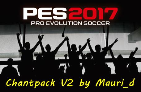 پک تشویق تماشاچیان v2 توسط Mauri برای PES 2017