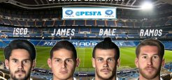 فیس پک Real Madrid توسط Ahmed El Shenawy برای PES 2017