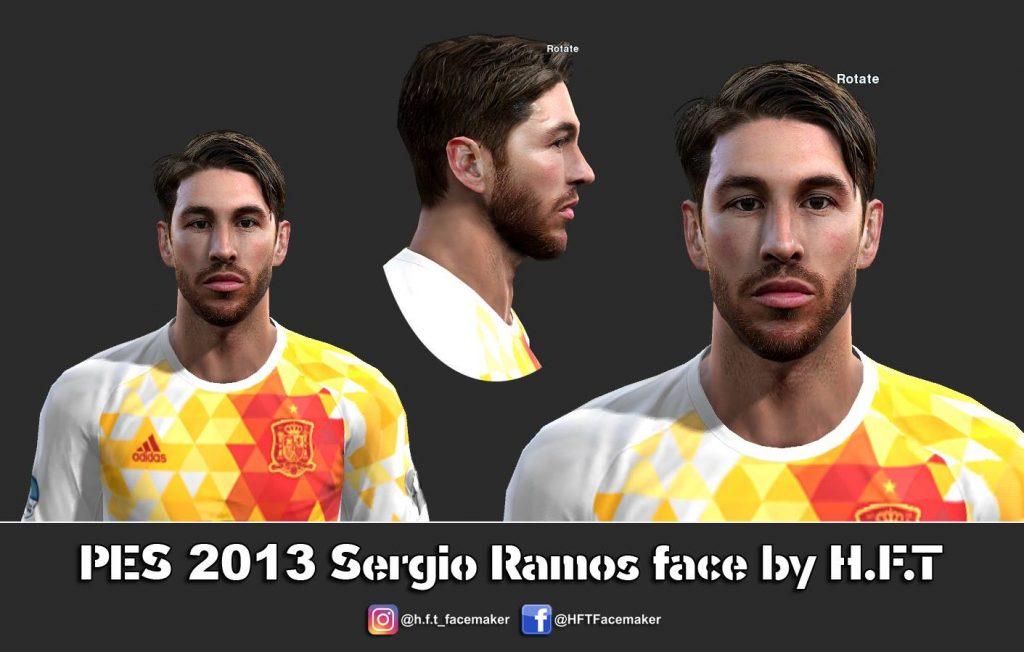 فیس و موی جدید راموس برای PES 2013
