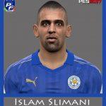 فیس جدید I.Slimani برای PES 2017