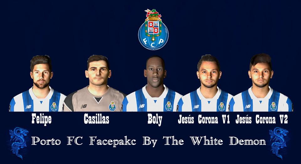 فیس پک تیم Porto FC برای PES 2017