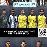 مگا فیس پک Colombian v2 برای PES 2017