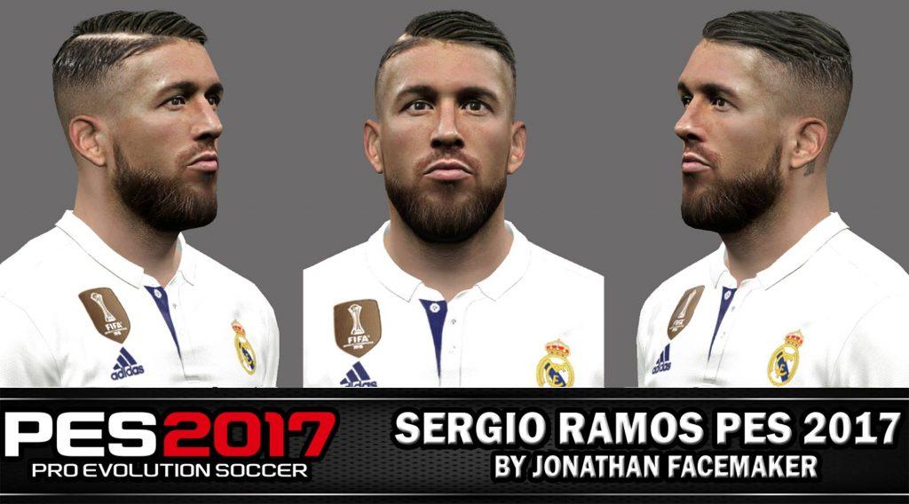 فیس و موی جدید S. Ramos برای PES 2017