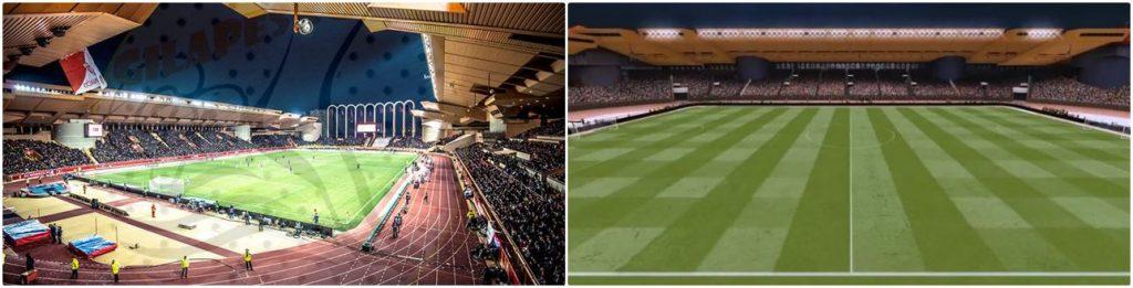 استادیوم (Louis II (Monaco برای PES 2017