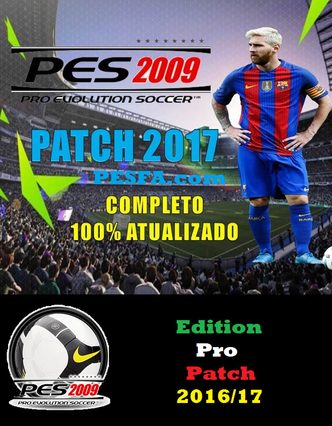 پچ Edition Pro Patch 2016/17 برای PES 2009 (درخواستی)