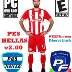 پچ حجیم PES HELLAS v2.00 برای PES 2017