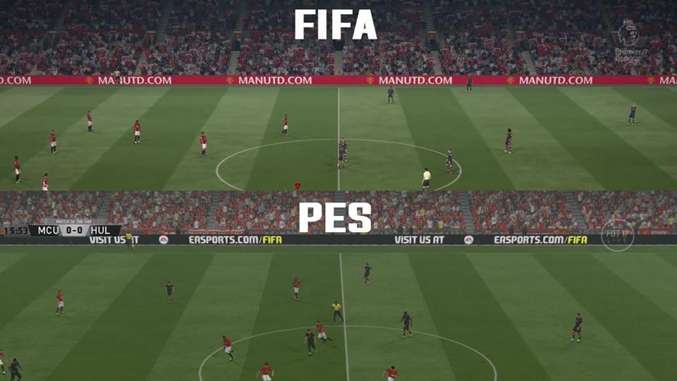 چمن Frost V2 برای PES 2017 (همانند FIFA)