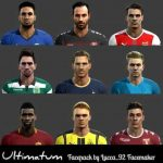 فیس پک Ultimatum برای pes 2013