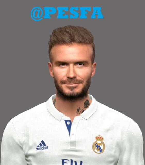 فیس David Beckham برای PES 2017