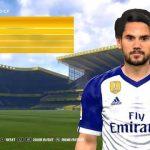 فیس جدید ستاره مادرید Isco برای pes 2017