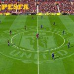 چمن فانتزی Old Trafford برای PES 2017