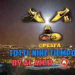 کفش Totti Nike Tiempo برای PES 2017