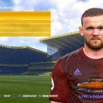 فیس جدید Wayne Rooney برای pes 2017