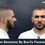 فیس جدید Karim Benzema توسط Bou7a برای PES 2017
