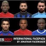فیس پک ورژن 7 توسط Jonathan برای PES 2017