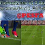 مود گرافیکی PS4 Green 1.0 برای PES 2017