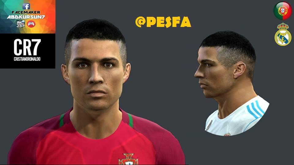 فیس جدید Ronaldo برای PES 2013