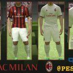 کیت پک AC Milan 2017/18 برای PES 2017