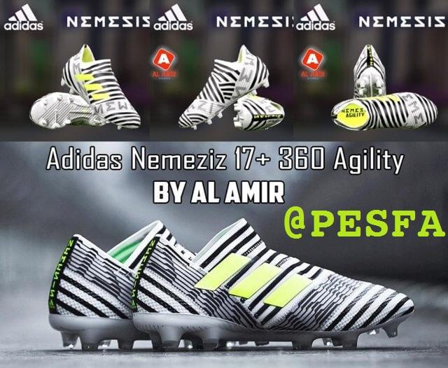 کفش جدید +Adidas Nemeziz 17 برای PES 2017