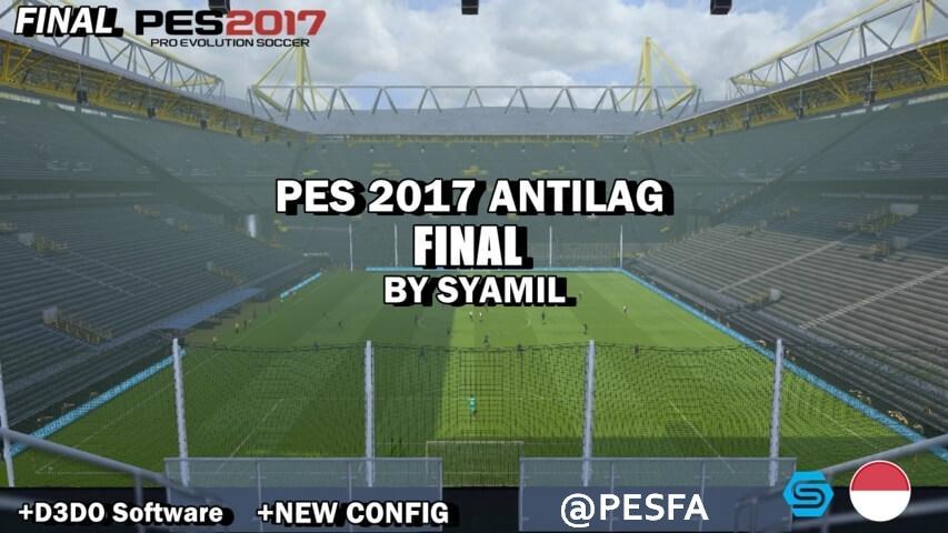 آنتی لگ FINAL توسط Symail برای PES 2017