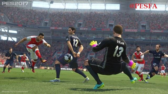 گیم پلی جدید توسط ETHAN2 برای PES 2017