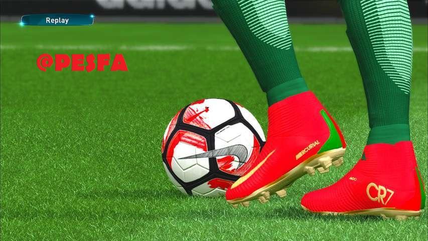 کفش جدید CR7 برای PES 2017