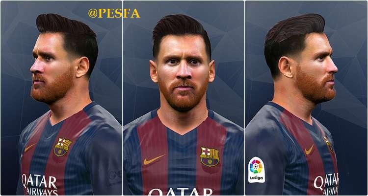 فیس جدید Messi توسط Jonathan برای PES 2017