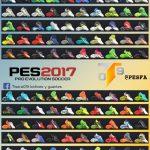 پک کفش 100 تایی جدید توسط Tisera09 برای PES 2017