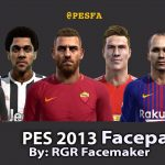 فیس پک ورژن 2 توسط RGR برای PES 2013