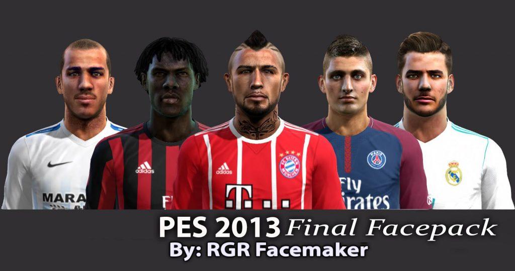 فیس پک Final توسط Rgr برای PES 2013