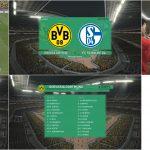 اسکوربورد جام حذفی آلمان برای PES 2017