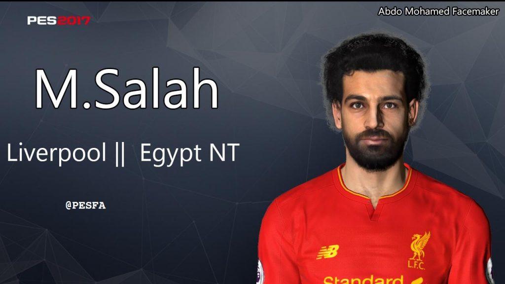 فیس جدید Mohamed Salah توسط Abdo Mohamed برای PES 2017