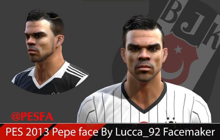 فیس جدید Pepe توسط Lucca_92 برای PES 2013