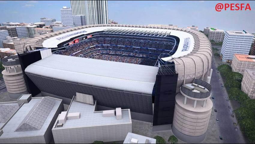 استادیوم پک AZ برای PES 2017 ( فیکس اضافه شد )