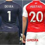 مگا کیت پک لیگ برتر انگلیس v1 توسط GE برای PES 2017